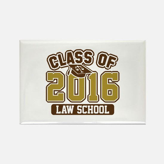 Class Of 2016 Law Rectangle Magnet (100 pack)