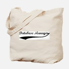 Database Manager (vintage) Tote Bag