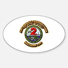 Amphibious Construction Battalion T Decal