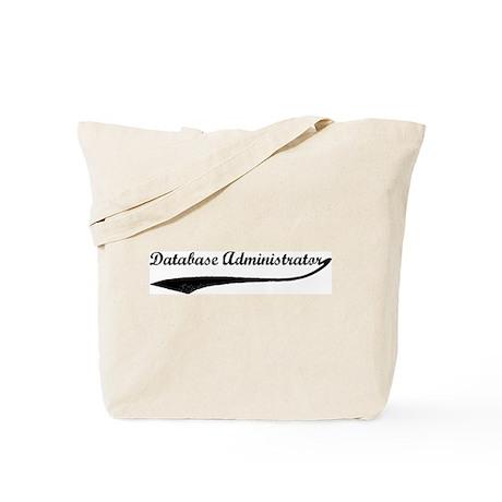 Database Administrator (vinta Tote Bag