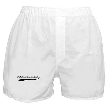 Database Administrator (vinta Boxer Shorts