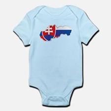 National territory and flag Slovakia Body Suit