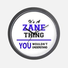 It's ZANE thing, you wouldn't understan Wall Clock