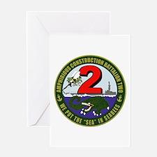 Amphibious Construction Battalion Greeting Cards