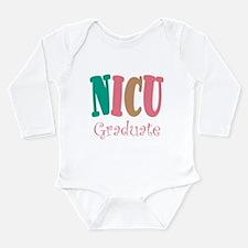 NICU Graduate Pink Baby Toddler Body Suit