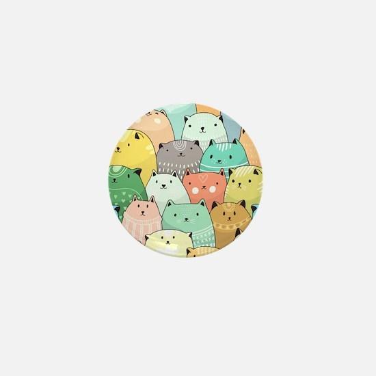 Cute Cats Mini Button