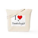 I Love My Teratologist Tote Bag