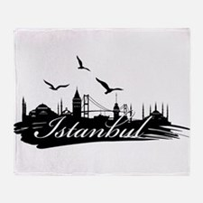 Istanbul design elements Throw Blanket