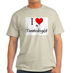 I Love My Teratologist Light T-Shirt