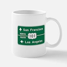 San Francisco-LA-US Route 101 Mug