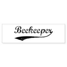 Beekeeper (vintage) Bumper Bumper Sticker