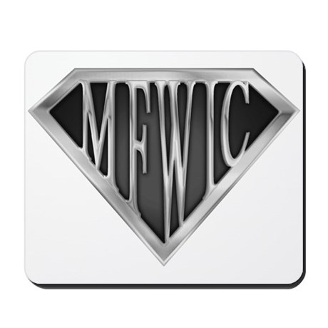 SuperMFWIC(metal) Mousepad