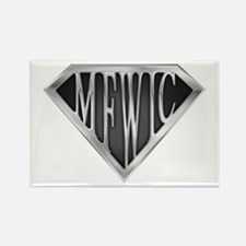 SuperMFWIC(metal) Rectangle Magnet