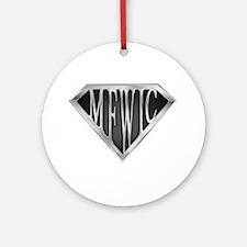 SuperMFWIC(metal) Ornament (Round)