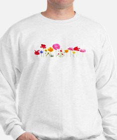 wild meadow flowers Sweatshirt