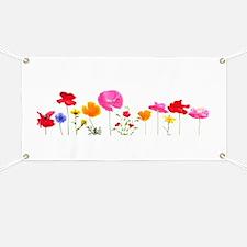 wild meadow flowers Banner