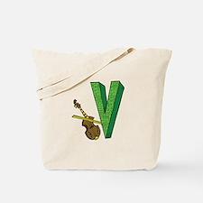 Kids Monogram V Tote Bag