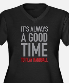 Play Handball Plus Size T-Shirt