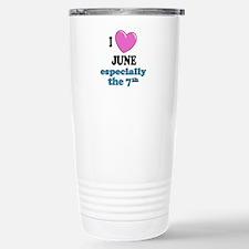 Cute June holidays Travel Mug