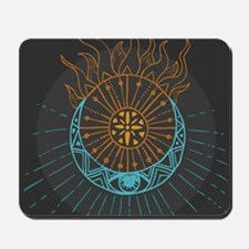 Sun and Moon Mousepad