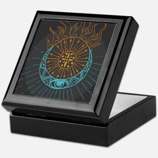 Sun and Moon Keepsake Box