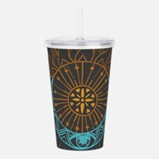 Sun and Moon Acrylic Double-wall Tumbler