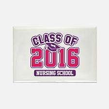 Class Of 2016 Nursing Rectangle Magnet