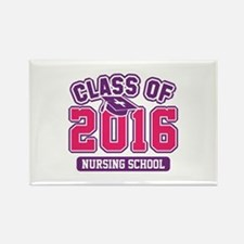 Class Of 2016 Nursing Rectangle Magnet (100 pack)