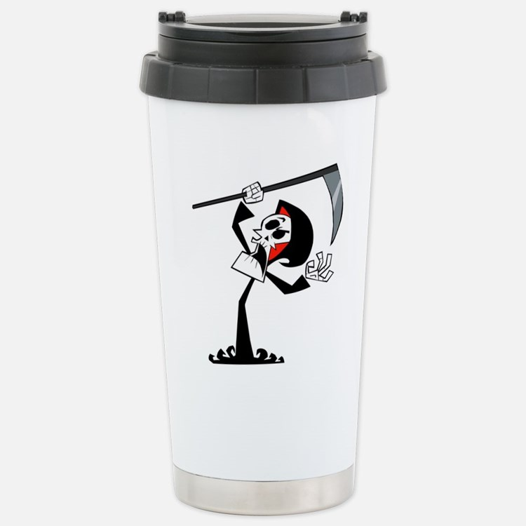Grim adventures of Bill Stainless Steel Travel Mug