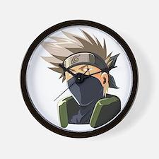Kakashi avatar cartoon Wall Clock