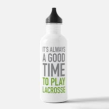 Play Lacrosse Water Bottle