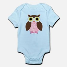 Its A Girl Owl Body Suit