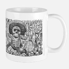 Skull from Oaxaca by Posada Mug