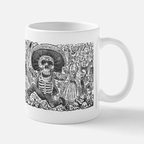 Skull from Oaxaca by Posada Mug