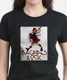 Bagpipes Rock T-Shirt