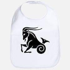 Capricorn zodiac sign Bib