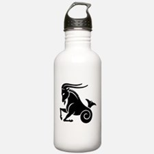 Capricorn zodiac sign Water Bottle