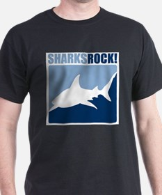 Sharks Rock! T-Shirt