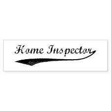 Home Inspector (vintage) Bumper Bumper Sticker