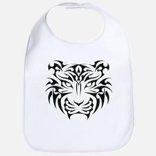 Tiger tattoo art Bib