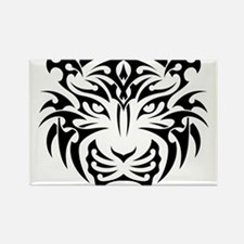 Tiger tattoo art Magnets