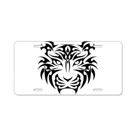 Tiger tattoo art aluminum license plate by admin cp134979268 for Tattoo artist license