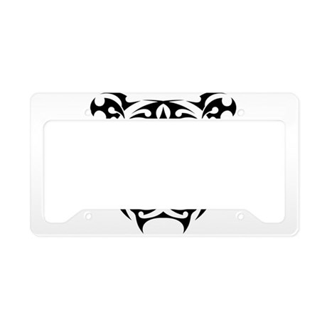 Tiger tattoo art license plate holder by admin cp134979268 for Tattoo artist license