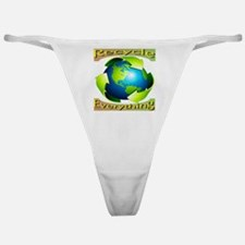 Recycle Everything Classic Thong