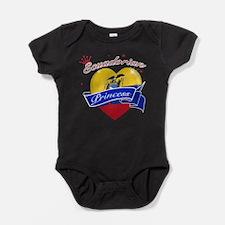 Unique Ecuadorian flag Baby Bodysuit