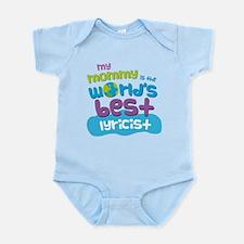 Lyricist Gift for Kids Infant Bodysuit