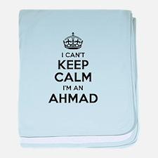 I can't keep calm Im AHMAD baby blanket