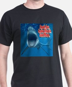 Dumb Ass Scuba Diver's Last Photo T-Shirt