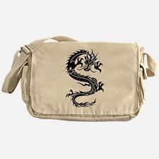 Oriental dragon tattoo art Messenger Bag