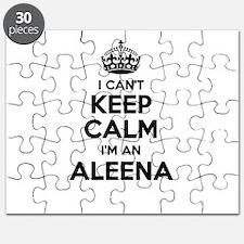 I can't keep calm Im ALEENA Puzzle